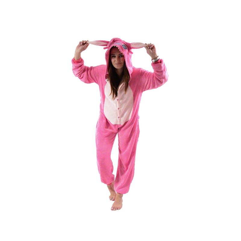 Przebranie kigurumi kigu - Stitch pink