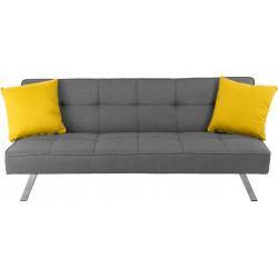 Sofa składana 3 poziomy Szara