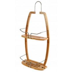 Półka łazienkowa bambusowa...