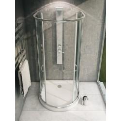 Kabina prysznicowa przezroczysta Romance 3 + Brodzik