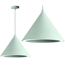 Lampa wisząca stożek LED Zielona