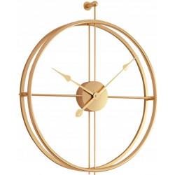 Zegar ścienny 3D złoty 50 cm