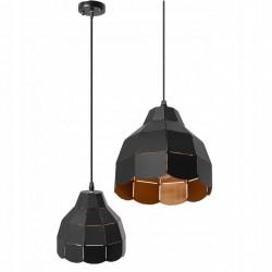 Lampa Sufitowa Czarna