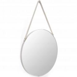 Okrągłe lustro białe na...
