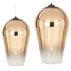 Lampa Sufitowa lustrzana Gold