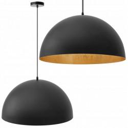 Lampa Sufitowa czarna misa...