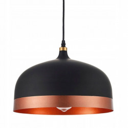 Lampa Sufitowa Czarna +...