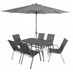Krzesło ogrodowe Polo Szare