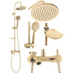 Zestaw prysznicowy Luis Gold