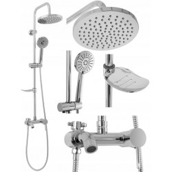 Zestaw prysznicowy Luis Chrome