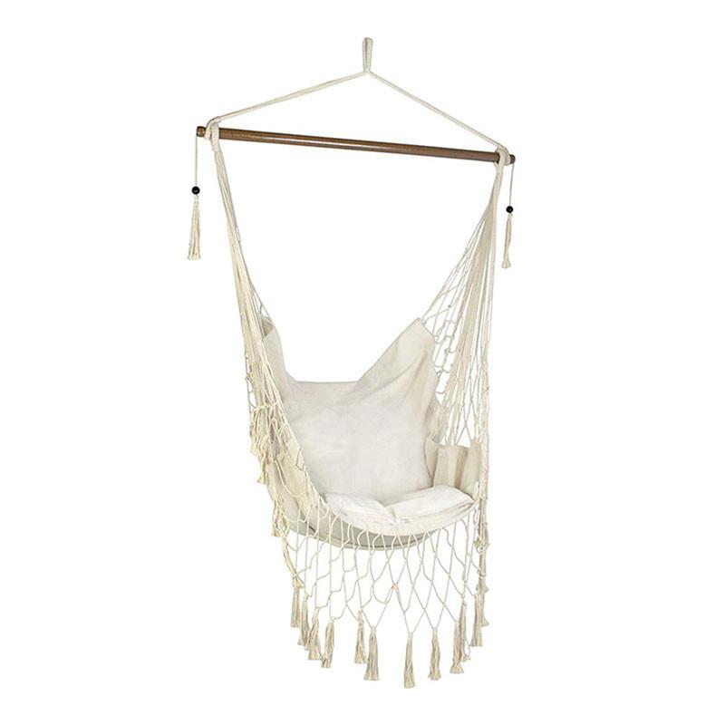 Krzesło Brazylijskie Aruba Ecru z poduszką