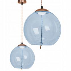 Lampa LED Szklana kula...