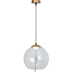 Lampa LED Szklana kula