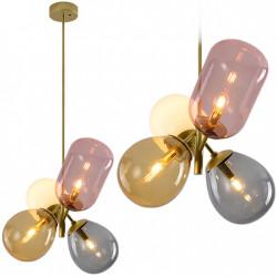 Lampa Szklana Multicolor