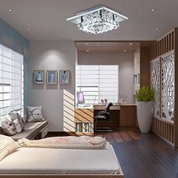 Lampa Sufitowa Kryształowa Plafon barwa neutralna
