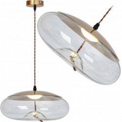 Lampa wisząca LED Szklana