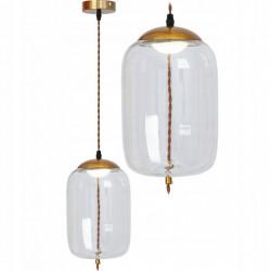 Lampa wisząca LED Szklana...