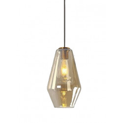 Lampa wisząca Szklana Amber...
