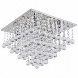 Lampa Kryształowa Plafon 70x70