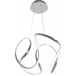 Lampa Sufitowa Wisząca LED Nowoczesna +Pilot