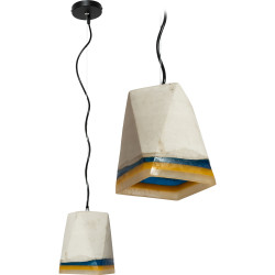 Lampa Sufitowa z cementu Loft