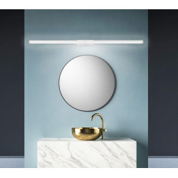 Lampa Kinkiet łazienkowy led 20W 100cm Biały