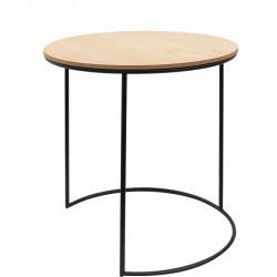 Druciany stolik kawowy Roz. M