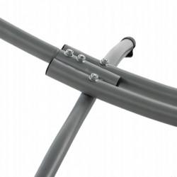 Stelaż + hamak 1-osobowy solidny metalowy komplet