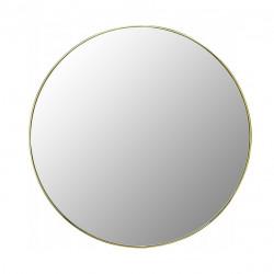 Lustro 50cm Złota Cienka Rama