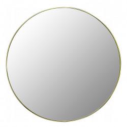 Lustro 60cm Złota Cienka Rama