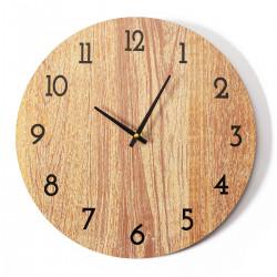 Okrągły zegar ścienny 30 cm