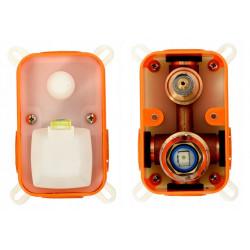 Zestaw prysznicowy Lungo Chrom podtynkowy + Box