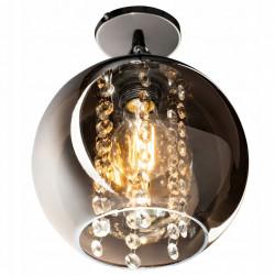Lampa Wisząca z Kryształkami Lustrzana