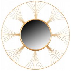 Lustro Dekoracyjne Złote