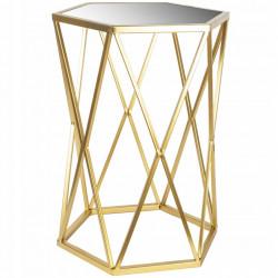 Stolik Złoty Glamour
