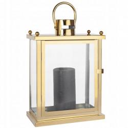 Lampion Złoty świecznik