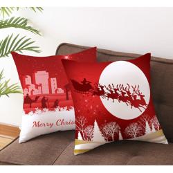 Poszewka na poduszkę 3D Świąteczna 45x45 31