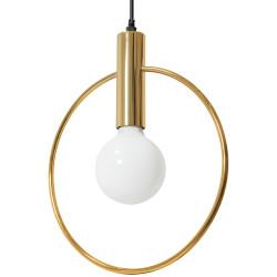 Lampa Wisząca Sufitowa Koło Złota