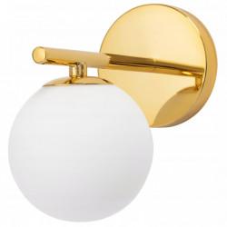 Lampa Kinkiet Złoty G9