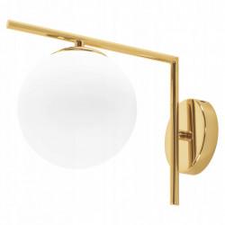 Lampa Kinkiet Złoty E27