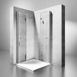 Kabina prysznicowa składana Rea Fold N2 Modułowa 70-120