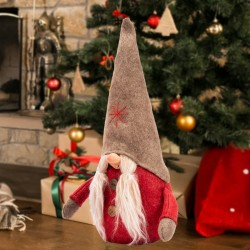 Krasnal Skrzat świąteczny 46 cm
