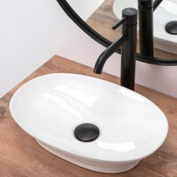 Umywalka nablatowa Lavi Biała