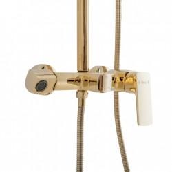 Zestaw prysznicowy złoty Roger Gold