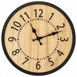 Okrągły zegar ścienny 35 cm