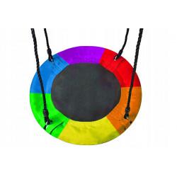 Huśtawka bocianie gniazdo do ogrodu 120x160 – multicolor