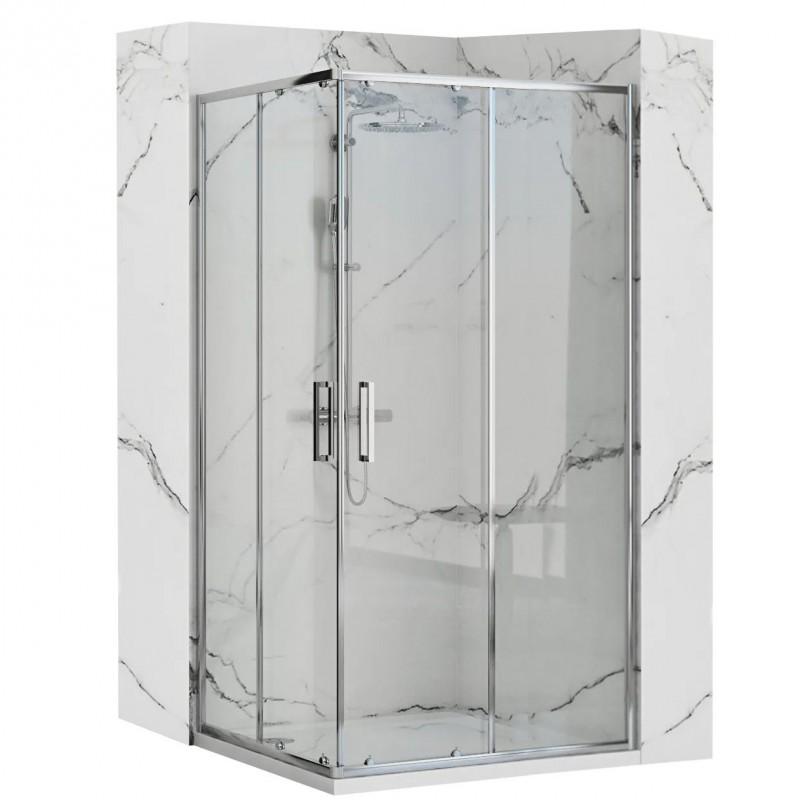 Kabina prysznicowa 80x100 Punto Chrom