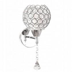 Lampa Kinkiet Kryształki