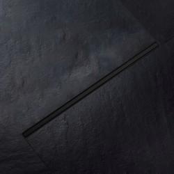 Odpływ prysznicowy liniowy Czarny SLIM 60-100cm Calani