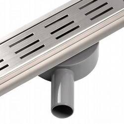 Odpływ prysznicowy liniowy Chrom 60-90cm Calani Line360